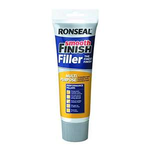 Ronseal Smooth Finish Multi Purpose Interior Wall Filler Ready Mixed 330g £2 (Prime) + £4.49 (non Prime) at Amazon