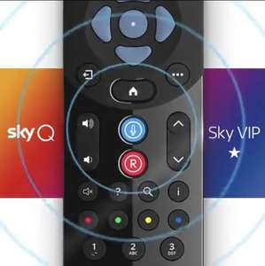 Free Sky Q Voice Activated Remote, exclusive to UK SkyQ customers without a voice remote (selected accounts) @ Sky Digital