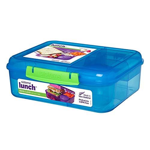 2 x Sistema Bento Lunch Box with Fruit/Yogurt Pot, 1.65 L £10 (Prime) + £4.49 (non Prime) at Amazon