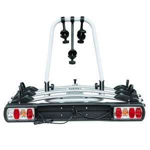 Rear-mounted Tow Bar Bike Rack - 3 Bikes / Max Weight 45KG - £111.99 Delivered Using Code @ eBay / Outsunny