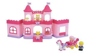 Chad Valley Tots Town Princess Castle Playset £10 (£3.95 delivery) @ Argos
