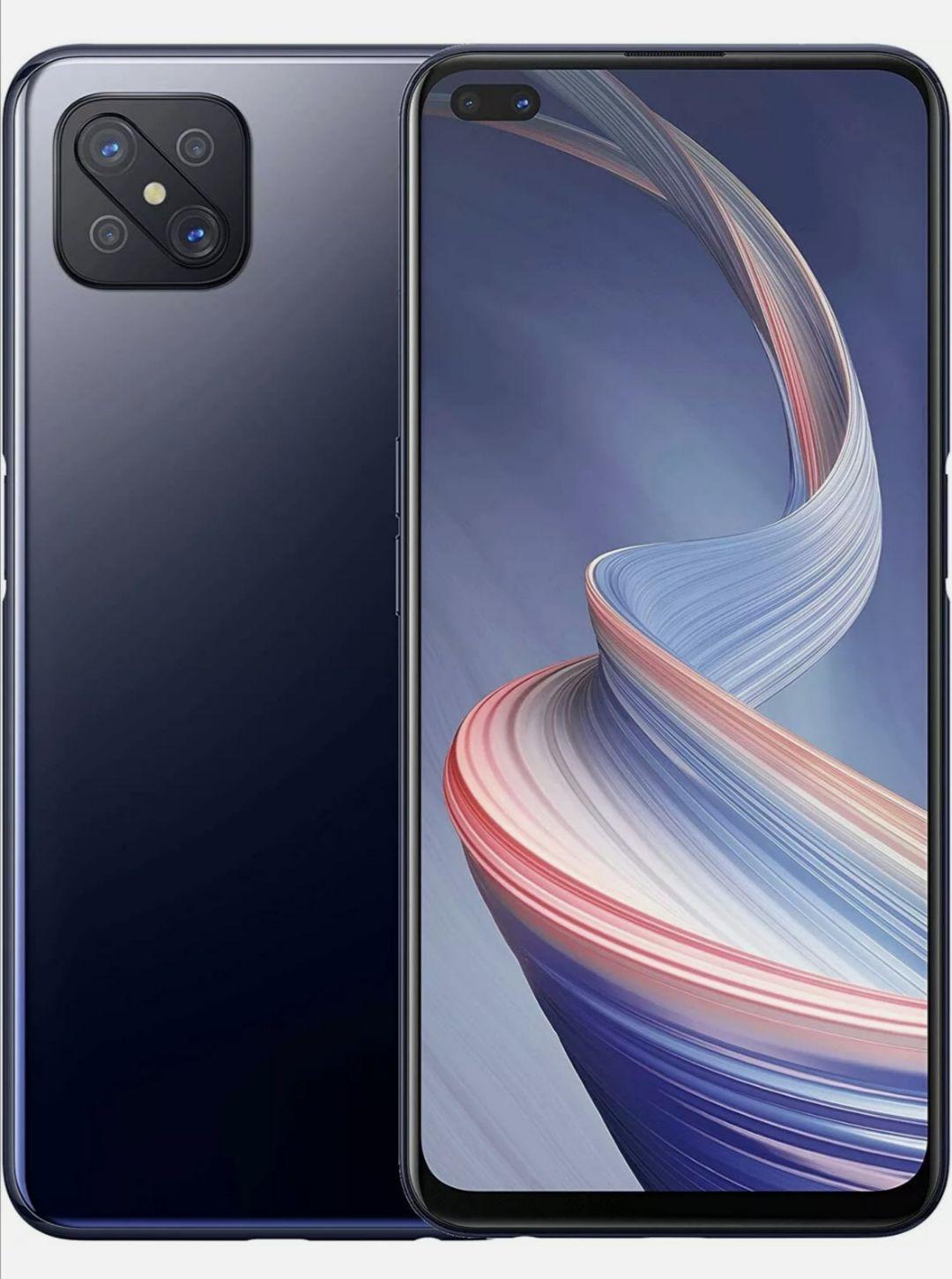 "New Oppo Reno 4 Z Black 6.50"" 128GB Dual SIM 5G Android 10 Sim Free Unlocked Smartphone - £207.20 @ Technolec / Ebay"