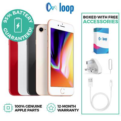 iPhone 8 Unlocked 64GB Space Grey - refurbished £167.20 @ loop_mobile / ebay