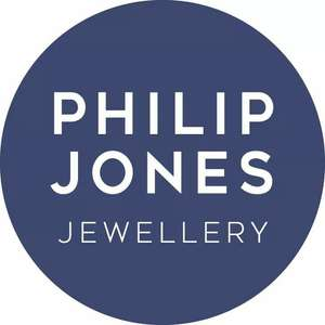 50% OFF All Jewellery (Discount Applied at Checkout) & Free 1st Class Royal Mail Delivery @ Philip Jones Jewellery