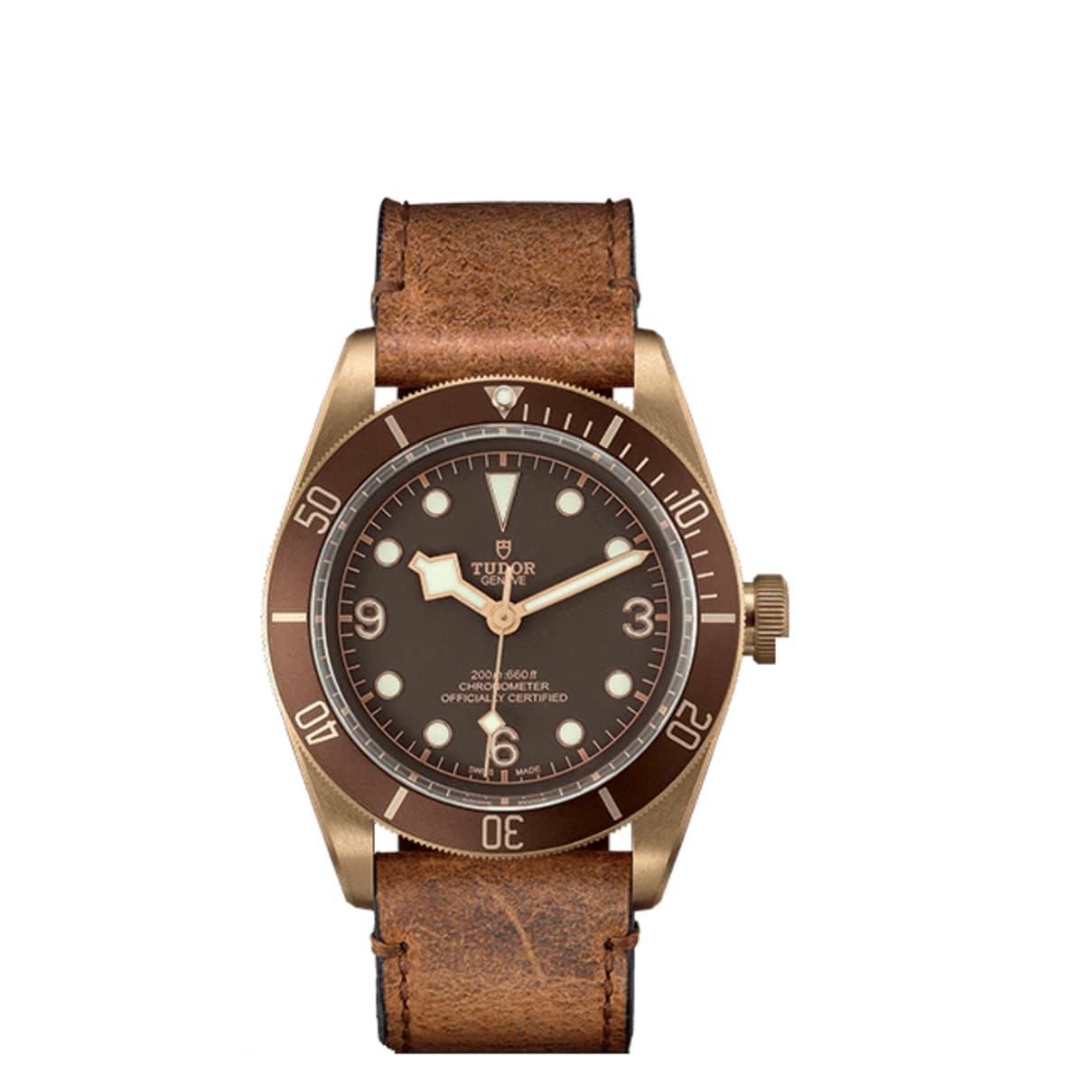Tudor Black Bay Bronze Leather Strap Watch £2,333 @ David M Robinson