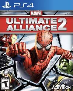 Marvel: Ultimate Alliance 2. (previously delisted) PlayStation 4, PS4 £29.99 @ PSN
