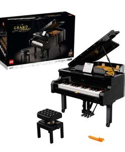LEGO 21323 Ideas Grand Piano Collectible Display Gift with Motor and Power Functions £260.46 at Amazon