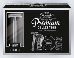 Wilkinson Classic Double Edge Safety Razor Premium Collection with 5 blades+Brush+Bowl - £13.78 With Code (New Accounts) @ WilkinsonSword