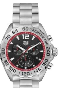 Tag Heuer Formula 1 Quartz Chronograph Black & Red 43MM CAZ101Y.BA0842 SKU: 6914261 - £1,050 @ Burrells
