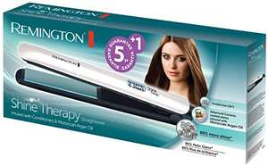 Remington Shine Therapy Advanced Ceramic Hair Straighteners with Morrocan Argan Oil for Improved Shine £25 Delivered @ Amazon