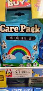 Kids fun 'on the go' Care Pack - Face mask / Hand cleanser / Wipes £1.99 @ Quality Save (Barnsley)