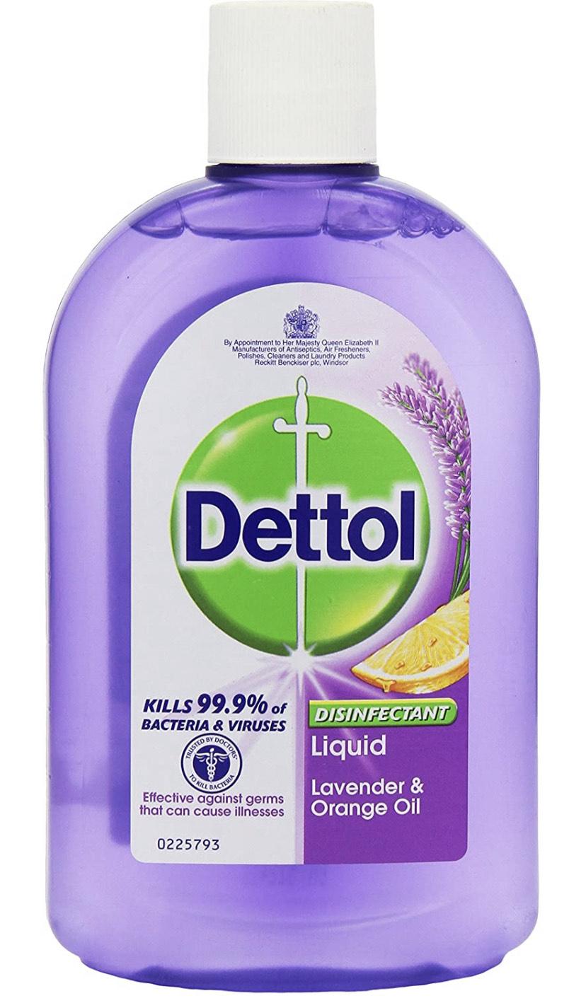 Dettol Disinfectant Liquid Lavender and Orange 500 ml £3 delivered with Prime / +£4.49 non Prime @ Amazon