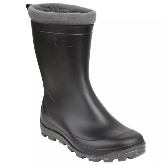 Solognac Men's Warm Short Wellies - Black £17.99 (£5.99 Delivery) @ Decathlon