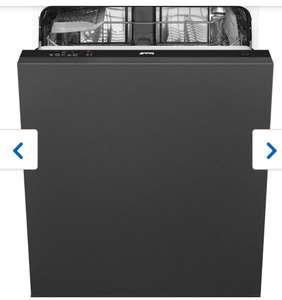 Smeg DIA13M2 Fully Integrated Standard Dishwasher - Black Control Panel with Fixed Door Fixing Kit - A++ Rated £309 at ao.com