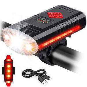 MOSFiATA USB Rechargeable Bike Light 1000 Lumen IPX4 - £11.89 Prime (+£4.49) Sold by Alfreco-eu and Fulfilled by Amazon