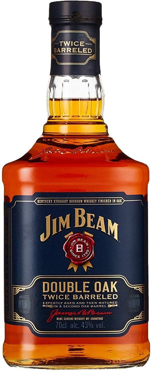 Jim Beam Double Oak Kentucky Straight Whiskey, 70cl - £20 @ Amazon