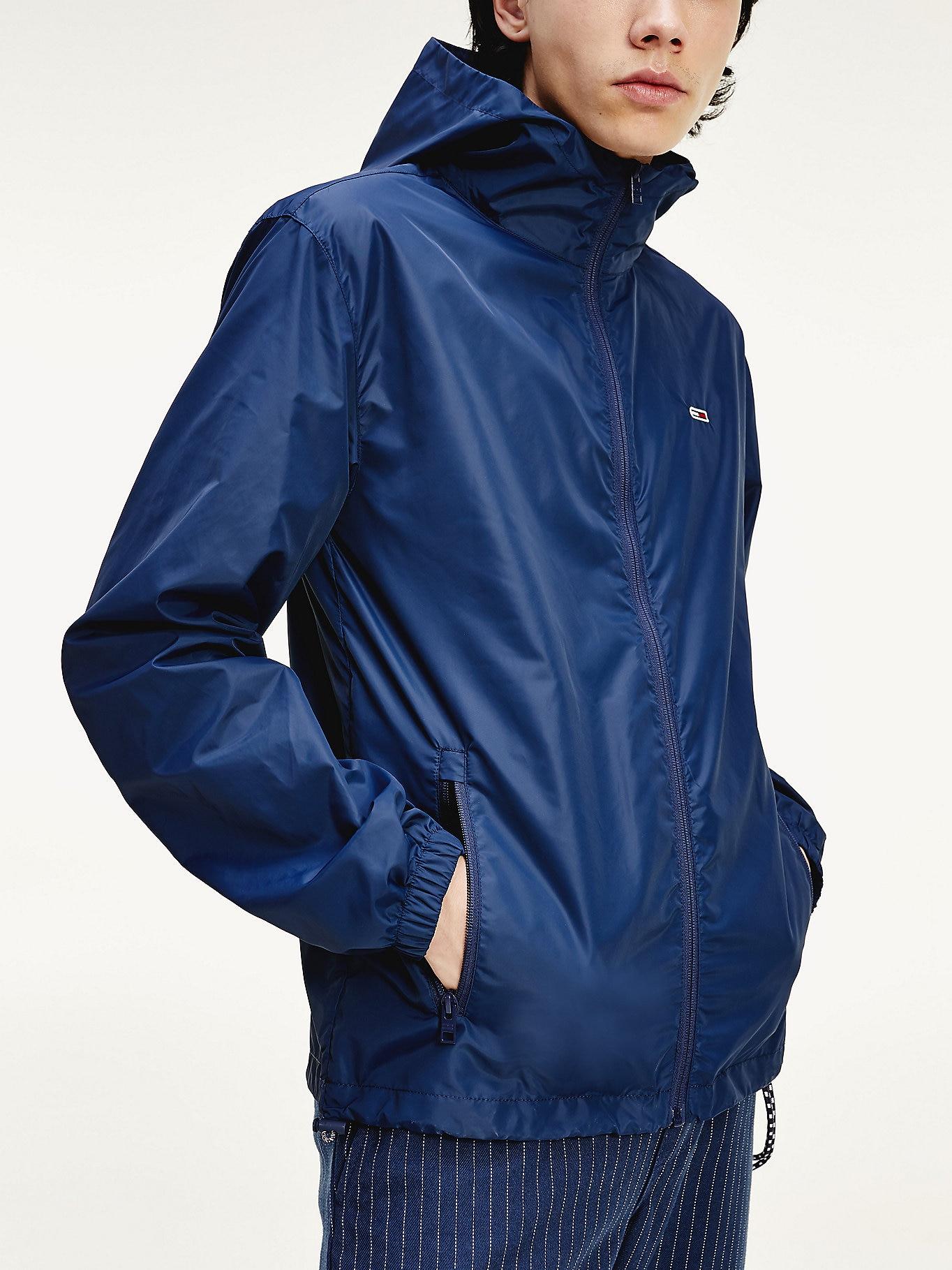 Tommy Hilfiger Mens Packable Hooded Windbreaker Jacket (3 Colours) - £48.90 Delivered @ Tommy Hilfiger