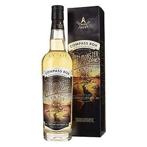 Compass Box Peat Monster Blended Malt Whisky - Non Chill Filtered - 70cl Bottle, 46% ABV £41.95 @ Amazon