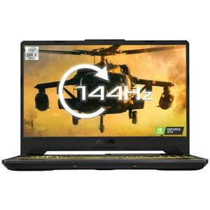 "ASUS TUF Gaming A15 15.6"" 144hz, AMD Ryzen 4600H, NVIDIA GeForce GTX 1660 Ti, 8GB DDR4 RAM, 512GB - £794.99 with code @ Laptopoutlet / eBay"