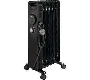 LOGIK L15OFR20 Portable 1500W Oil-filled Radiator - £22.99 at Currys PC World