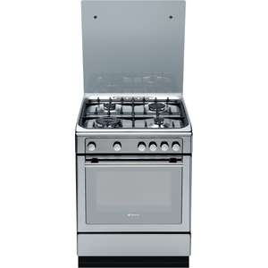 HOTPOINT DHG65SG1CX Gas Cooker - Stainless Steel £329 delivered with voucher at Currys
