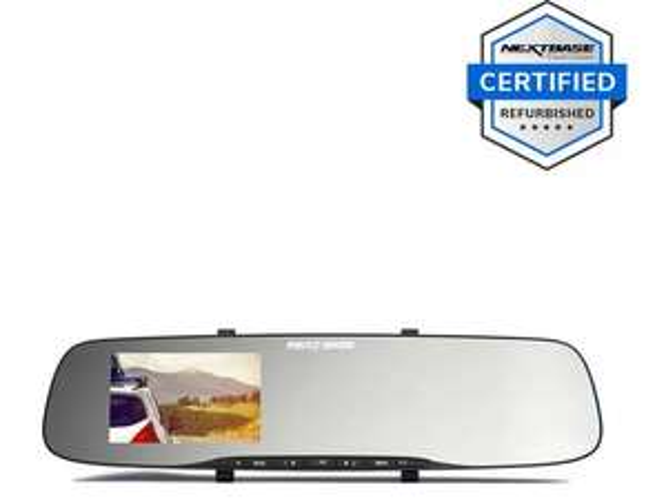 Refurbished Nextbase Rear View Mirror Dash Cam £31.99 at Halfords