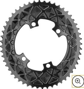AbsoluteBLACK Shimano 4 Bolt Oval Road 52T Chainring £70.49 @ ProBikeKit