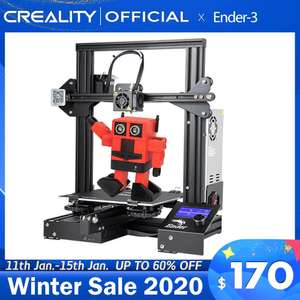 CREALITY 3D Printer Ender-3 £130.61 @ Aliexpress CREALITY 3D Official Store