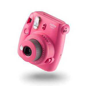 Fujifilm instax Mini 9 Camera with 10 Shots film pack (Flamingo Pink) - £45.49 @ Amazon