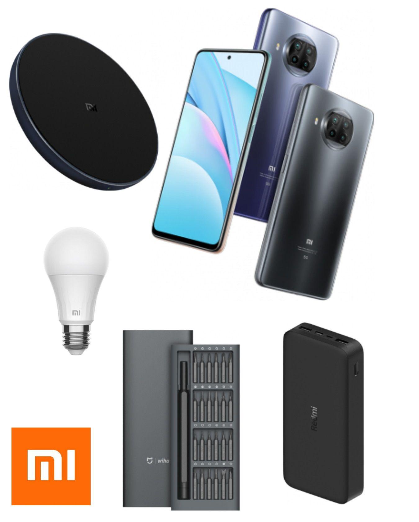 Xiaomi Mi 10t Lite 64GB - £189 (£178.99 With Screwdriver/Bulb etc    £173.99 With Selfie Stick/Powerbank Etc)   9s 64GB - £139 @ Xiaomi