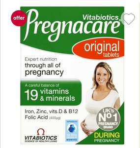 Pregnacare vitabiotics 3 for 2 boots 90 tablets 3 boxes for £9 + £3.50 Delivery @ Boots