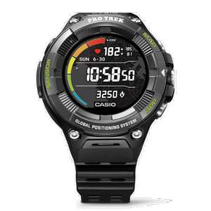 Casio Pro Trek GPS Outdoor Touchscreen Smart Watch With Heart Rate Monitor - Reduced To Half Price At £199 At Casio UK