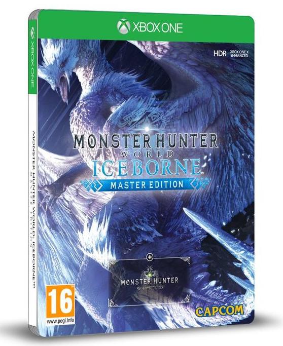 Monster Hunter World Iceborne Master Edition inc Steel Book & Yukumo layered armour set - £17.85 delivered @ ShopTo