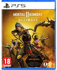 Mortal Kombat 11 Ultimate (PS5) - £24.99 with code @ Currys