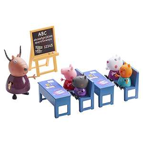Peppa Pig 0416012 Toy Classroom, Multicoloured £5 + £4.49 NP @ Amazon