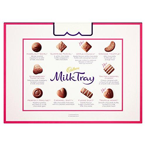 Cadbury Milk Tray Chocolate Box, 530g £5 + £4.49 NP @ Amazon