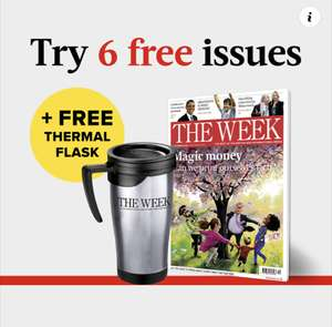 Receive 6 issues of The Week + flask for FREE @ The Week