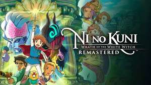 Ni no Kuni Wrath of the White Witch Remastered (PC) £10.79 Fanatical