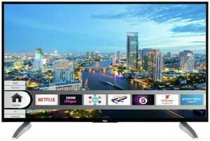 Refurbished Bush DLED43UHDHDRS 43 Inch 4K Ultra HD HDR Freeview Play Smart LED TV - Black £137.99 @ Argos eBay store.
