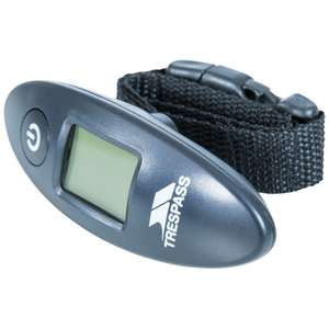 Trespass Digital Luggage Scale delivered with code for £8.89 at trespass
