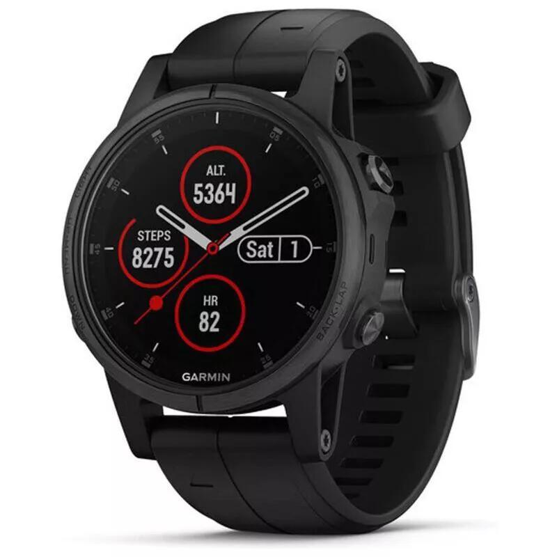 GARMIN Fenix 5S Plus SAPPHIRE Watch (Black) £355.98 Delivered (With Code) @ Sportpursuit.