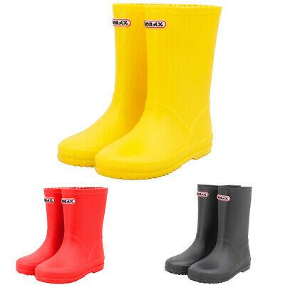 ZORAX Boys Kids Wellies Wellington Boots Child Junior Rain Boots EU 23 - EU 35 - £8.99 @ globalbikeonline ebay