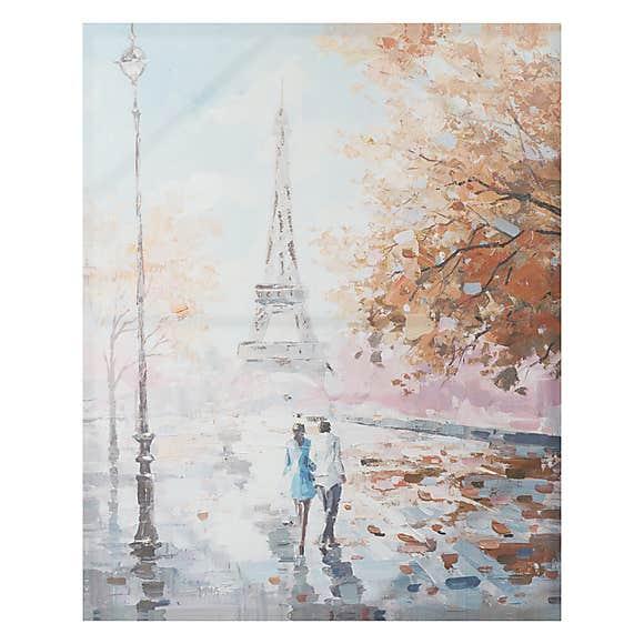 Paris canvas 80cm x 100cm - £13.95 delivered at Dunelm
