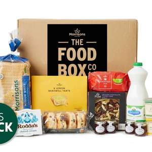 Afternoon Tea Box £13 delivered with code - free DPD mainland delivery @ Morrisons