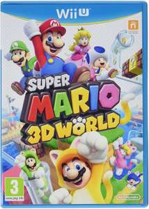 Used: Super Mario 3D World for Nintendo Wii U £16.95 delivered @ CeX