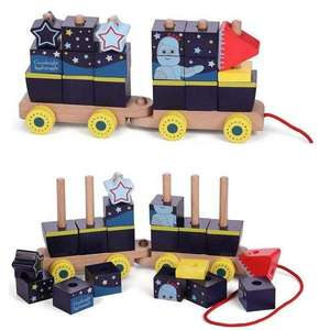 In the Night Garden Stacking Train £9.99 with Free UK Mainland delivery @ Bargain Max