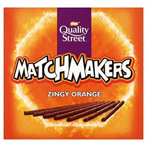 Quality Street Matchmakers Zingy Orange Chocolates, 120g - £1 Prime / +£4.49 non Prime @ Amazon