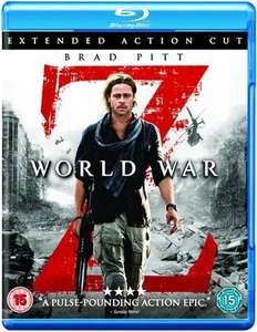 World War Z Extended Action Cut. Brad Pitt - £2.69 delivered @ Music Magpie