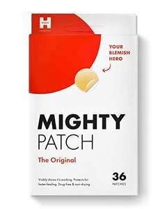 Mighty Patch Hydrocolloid Acne Absorbing Spot Dot (12mm 36 Count) £15.80 + £4.49 NP Amazon