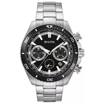 Bulova Men's Stainless Steel Bracelet Chronograph Watch rrp£499.99 @ H Samuel